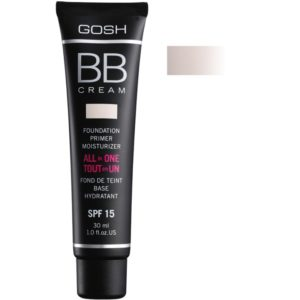 GOSH BB Cream Foundation Primer Moisturizer SPF 15 30 ml 01 Sand