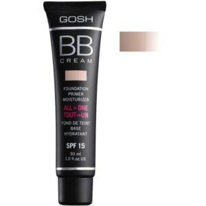 GOSH BB Cream Foundation Primer Moisturizer SPF 15 30 ml 02 Beige