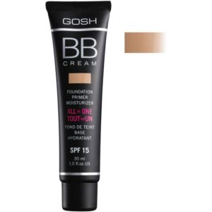 GOSH BB Cream Foundation Primer Moisturizer SPF 15 30 ml 03 Warm Beige