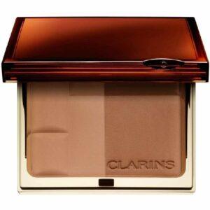 Clarins Bronzing Duo Mineral Powder Compact 10 gr 03 Dark