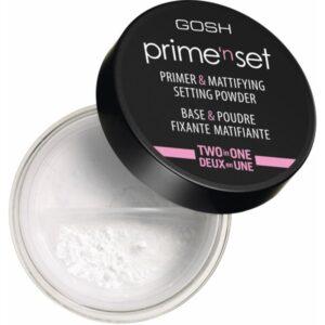 GOSH Primen Set Primer & Mattifying Setting Powder 7 gr Two In One