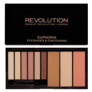 Makeup Revolution Euphoria Eyeshades & Contouring Bare 18 gr