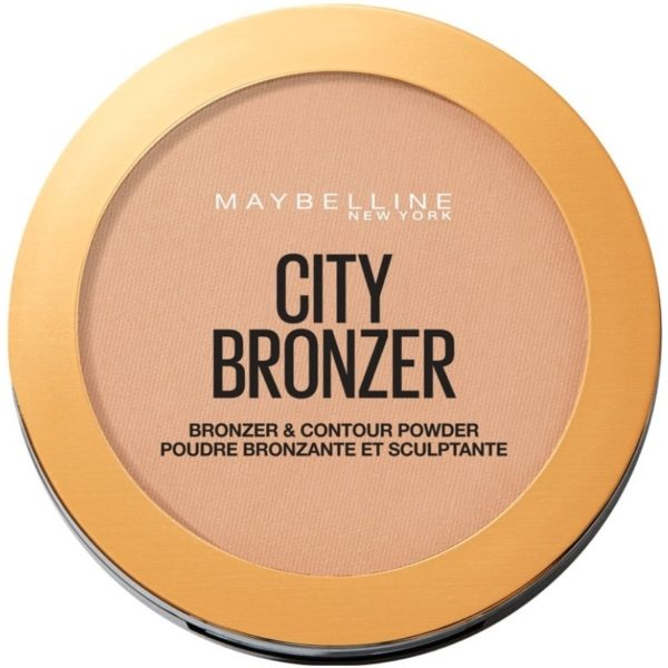 Maybelline City Bronzing & Contouring Powder 8 gr 200 Medium Cool