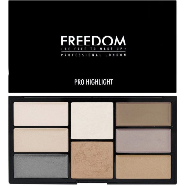 Pro Creme & Highlight Freedom Makeup London Contouring