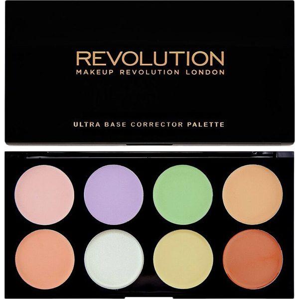 Ultra Base Corrector Palette Makeup Revolution Contouring