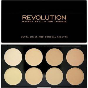 Ultra Cover And Conceal Palette Makeup Revolution Contouring