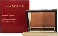 Clarins Bronzing Duo Mineral Powder 10g - Dark