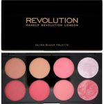 Kjøp Ultra Blush And Contour Palette, Sugar And Spice, 8 Shades Makeup Revolution Blushpaletter Fri frakt
