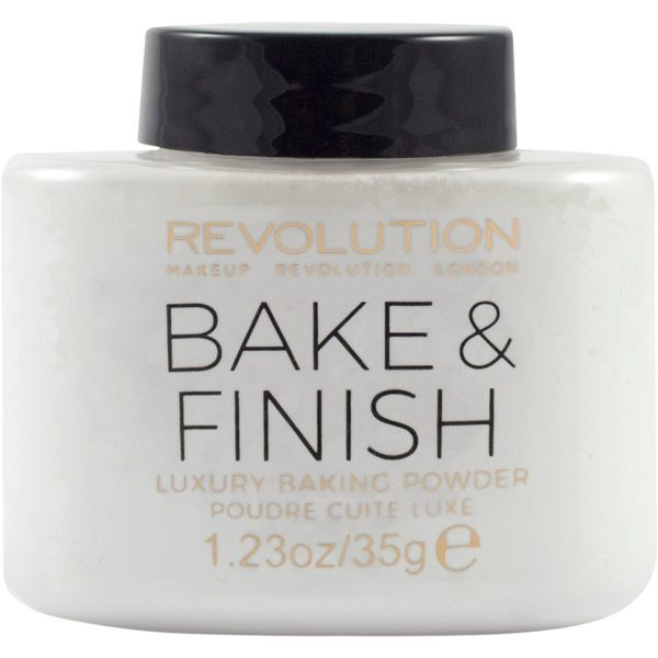 Kjøp Bake and Finish Powder, Makeup Revolution Pudder Fri frakt
