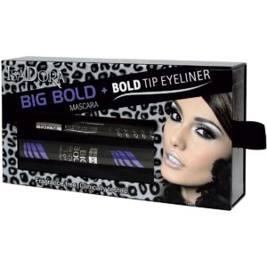 Kjøp Big Bold Mascara + Bold Tip Eyeliner Kit, IsaDora Makeup Set Fri frakt