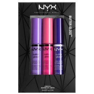 Kjøp Butter Lip Gloss Set 08, NYX Professional Makeup Lipgloss Fri frakt