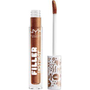 Kjøp Filler Instinct Plumping Lip Polish, New Money NYX Professional Makeup Lipgloss Fri frakt
