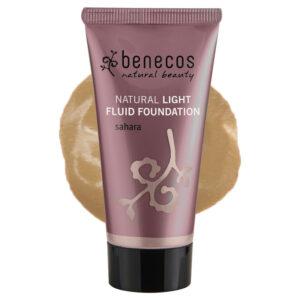 Benecos Natural Light Fluid Foundation 30 ml Sahara