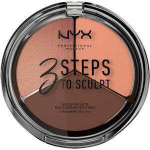 3 Steps to Sculpt NYX Professional Makeup Contouring