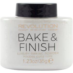 Kjøp Bake and Finish Powder, Makeup Revolution Pudder Fri frakt