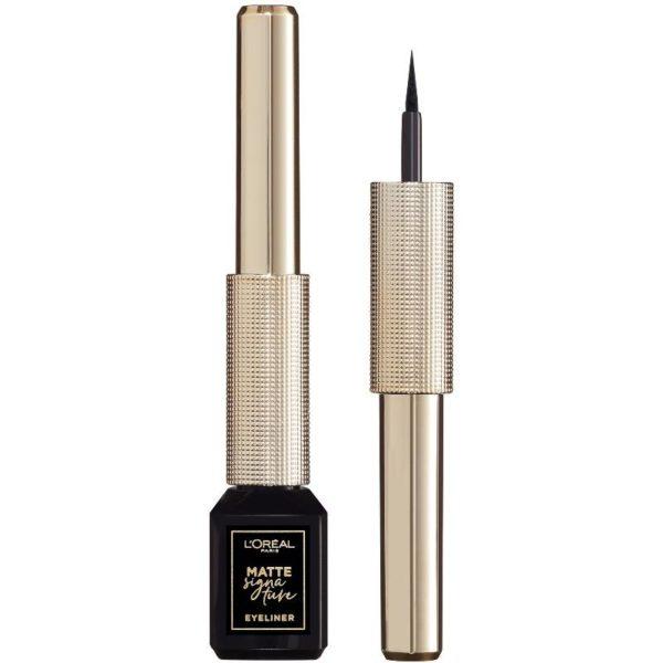 L'Oreal Paris Cosmetics Matte Signature Liquid Eyeliner – 01 Black