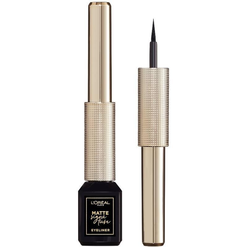 L'Oreal Paris Cosmetics Matte Signature Liquid Eyeliner - 01 Black